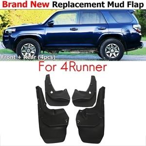 4Pcs Car Mud Flaps Mudguards Splash Guards Fender for Toyota 4Runner 2010-2019 Car Accessories