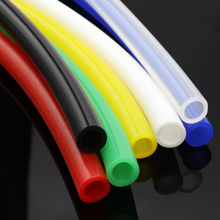 8x12 Colorful Flexible Silicone Tube ID 8mm x 12mm OD Food Grade Non-toxic Drink Water Rubber Hose Milk Beer Soft Pipe Connector