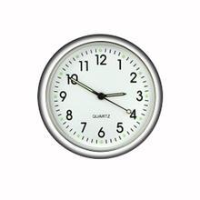 Car Clock Luminous Mini Cars Internal Stick-On Digital Watches Gifts Clock Automotive Accessories Qu