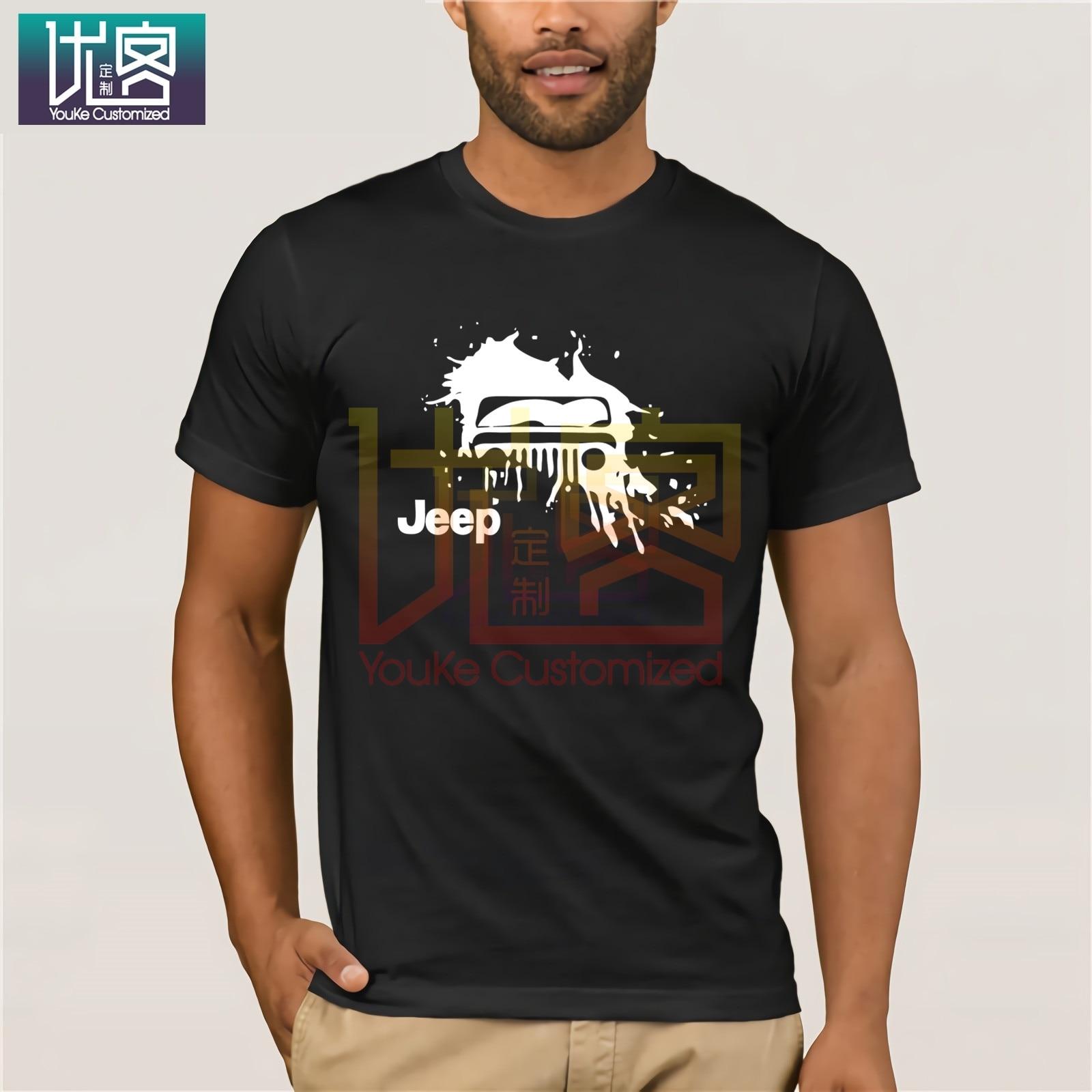 Moda 2020, gran oferta, Jeeps American Car Cj7 Splash Land Cruiser, camiseta 4x4, camiseta a la moda para hombres, envío gratis, camiseta para hombres, Tops