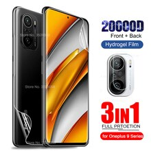Front Back Hydrogel Film for Poco F3 Screen Protectors Not Glass for Xiaomi PoxoPoko Little F3 F 3 5