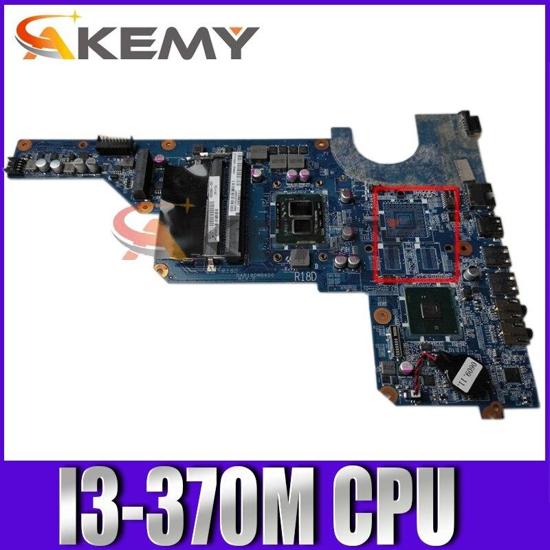 AKemy محمول لوحة رئيسية لأجهزة HP بافيليون G4 G6 G7 G4-1000 G6-1000 I3-370M اللوحة 655990-001 655990-501 DAR18DM86D0 HM55