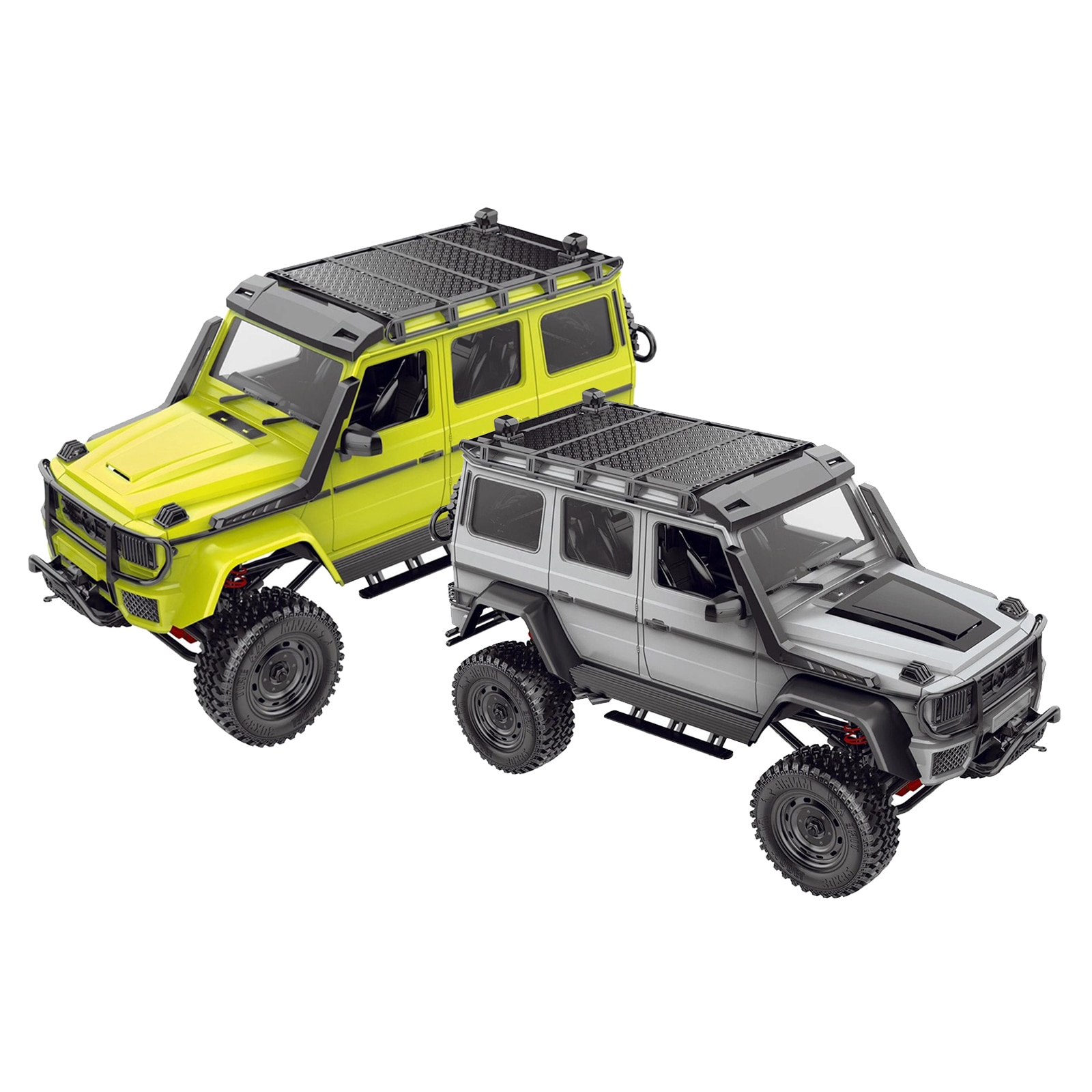 DIY MN86KS RC Rock Crawler 1:12 Scale  4WD Climbing Car Upgrade Kit enlarge