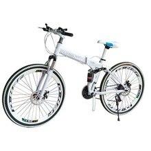 VTT en acier au carbone une roue 26 pouces pliant étudiant cadeau voiture hommes et femmes cross-country VTT x6