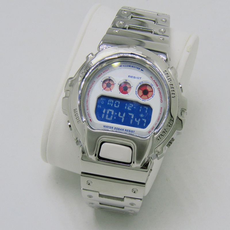 DW6930 Metal Stainless Steel Watch bezel watchband DW6900 Watch band Strap Watch Frame gshock Bracelet Accessory with Repair Too