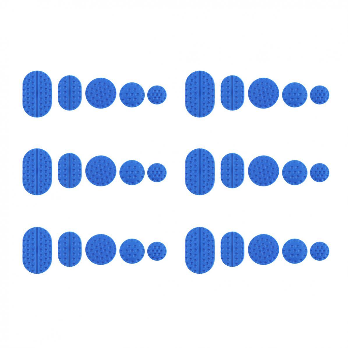30pcs Universal  Blue PA  Car Body Dent Repair Shim Sucker Pull Cap Tabs Tools Accessory Kit  Suitable for Car