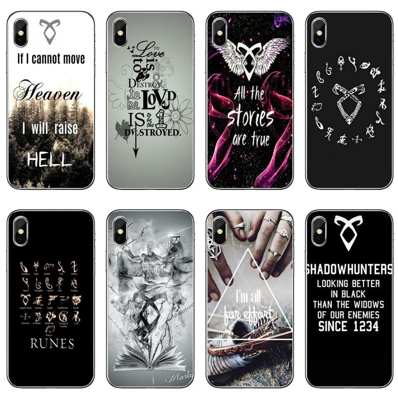 Аксессуары для телефона shadowhunters Malec, чехол для iPhone 11 Pro XS Max XR X 8 7 6 6S Plus 5 5S SE 4S 4 iPod Touch 5 6
