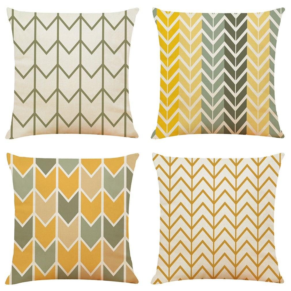 Проверьте чехол для подушки с принтом декоративные подушки с рисунком подушки сиденья домашний декор льняная подушка для дивана наволочка