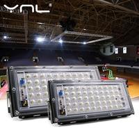 Светодиодный прожектор, уличный водонепроницаемый, степень защиты IP65, 50 Вт, 220/230/240 В перем. тока,