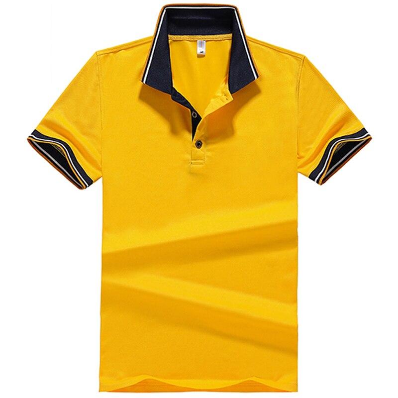 De talla grande 6XL 7XL 8XL calidad Polos hombres verano sólido Polo camiseta transpirable camisetas Golftennis clásico negocio camisa de Polo de los hombres