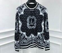 Новинка 2020, дизайнерские толстовки с капюшоном 20ss, пуловер, роскошная одежда для мужчин с принтом короны