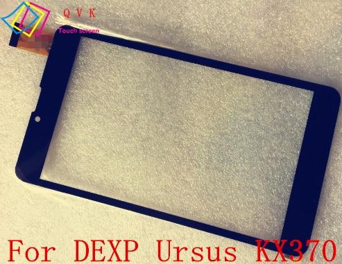 10 piezas negro 7 pulgadas para Dexp ursus KX370 tablet pc pantalla táctil capacitiva panel digitalizador de vidrio envío gratis