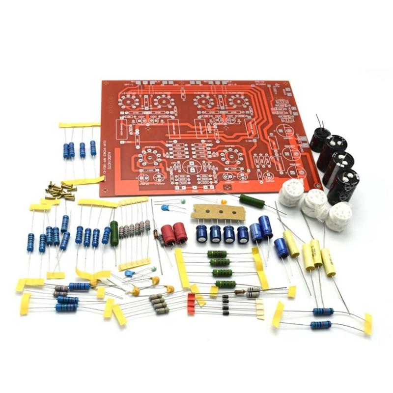 مرحبا نهاية إستيريو دفع سحب EL84 فراغ مُضخّم صوت PCB لتقوم بها بنفسك عدة مع D4-004 السعة