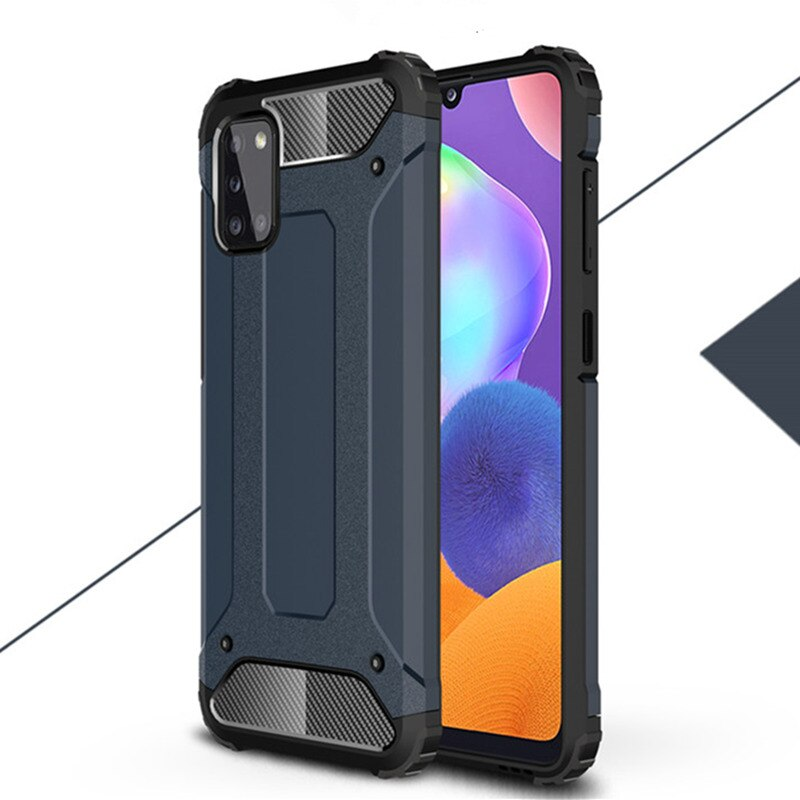 Armor Case For Samsung Galaxy A31 Case A21S A21 A41 A11 A01 Bumper Protective Phone Bumper For Samsung Galaxy M11 M31 M21 M30S