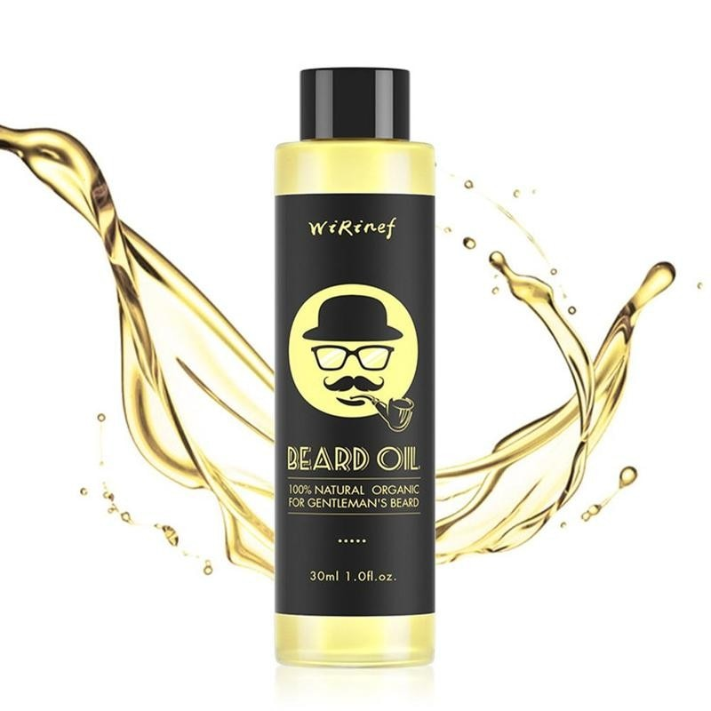 30ml Beard Oil  Natural Ingredients Growth Oil For Men Beard Grooming Treatment Shiny Smoothing Mois