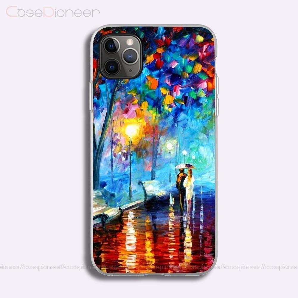 Funda de teléfono de silicona blanda Glad abstracta para iPhone 5 6 7 8 Plus X XR XS 11Pro Max SE 2020