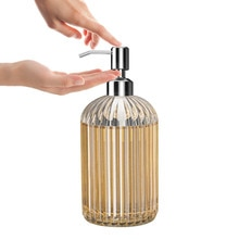 المطبخ غسول زجاجة قائما بذاته الحمام ضاغط يدوي مانعة للتسرب المنزل فندق السائل موزع الصابون أدوات غرفة نوم #25