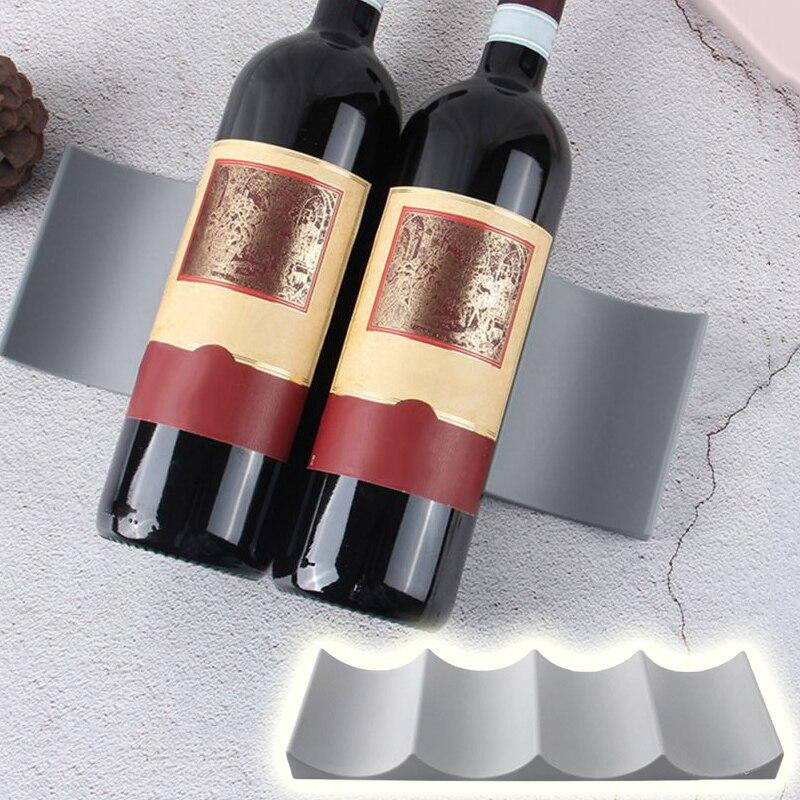 Estante de grado alimenticio PP antideslizante, estante de exhibición de bebidas alcohólicas,...