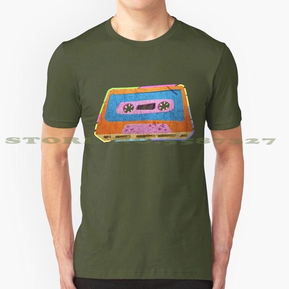 Cinta de Cassette de 80 S 90S Vintage Retro personalizado gráfico divertido gran oferta camiseta 80 S de cinta de Cassette de música Retro Vintage