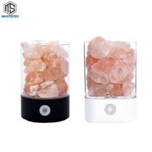 Lampe à sel pierre de sel de cristal de lhimalaya bloc de sel danion naturel pour purifier la lampe créative de rayonnement électromagnétique de bloc dair