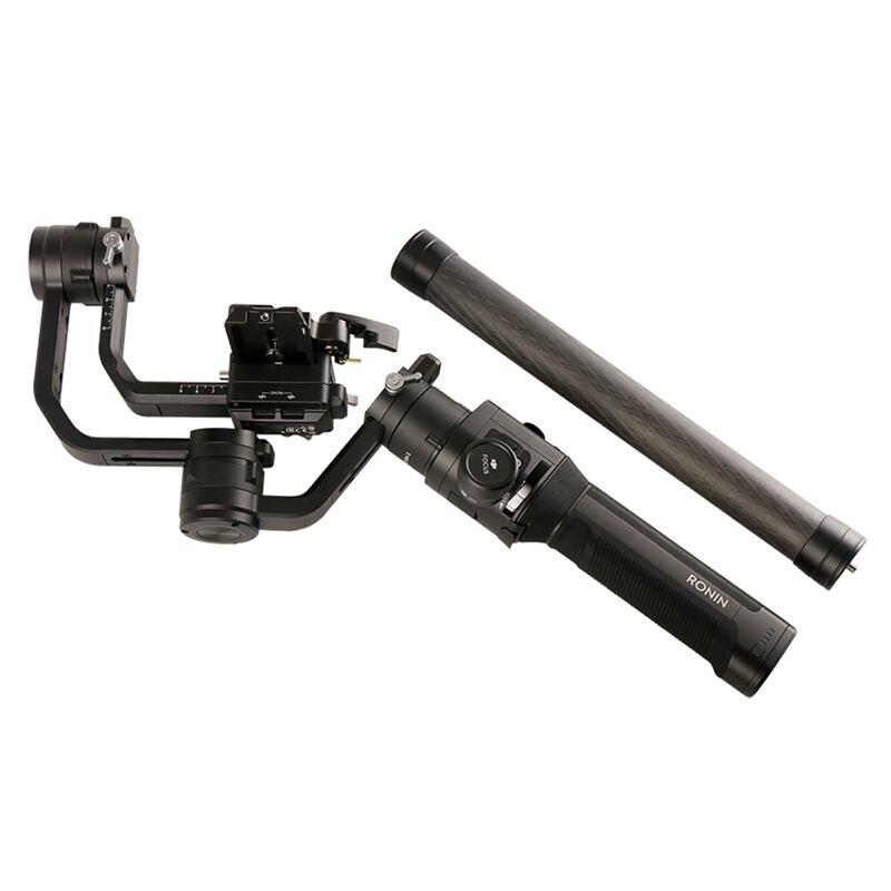 Caliente 3C-Aluminum de aleación de varilla de extensión Polo palo para Dji Ronin S Osmo Vimble 2 Crane liso 4 Feiyu G6 G5 AK4000 A2000 telescópica Han