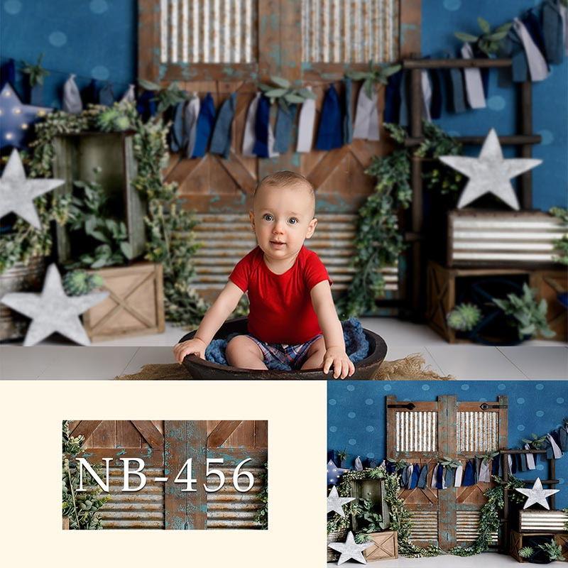 Fonds de photographie bébé douche fête danniversaire fond de Photo arrière-plan photographique personnalisé pour Studio de Photo