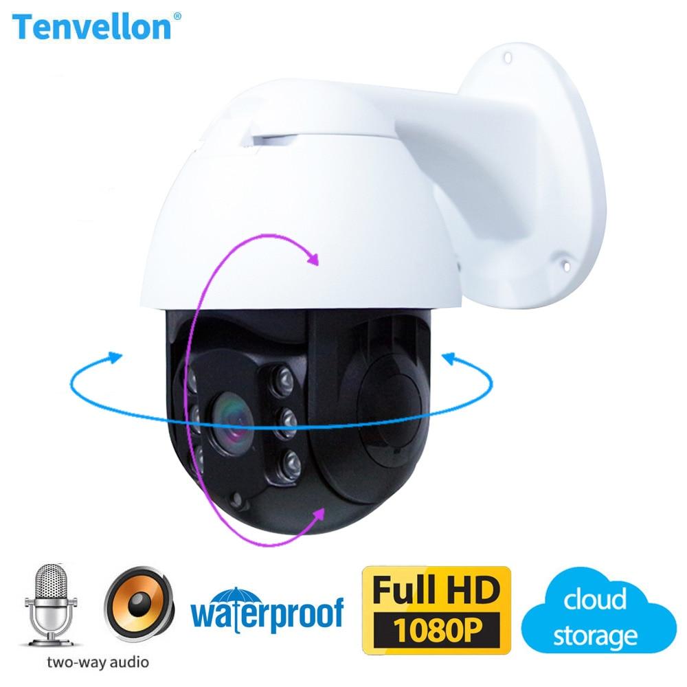 Cámara IP WiFi 1080P para exteriores, videocámara PT Speed Dome CCTV IR,...
