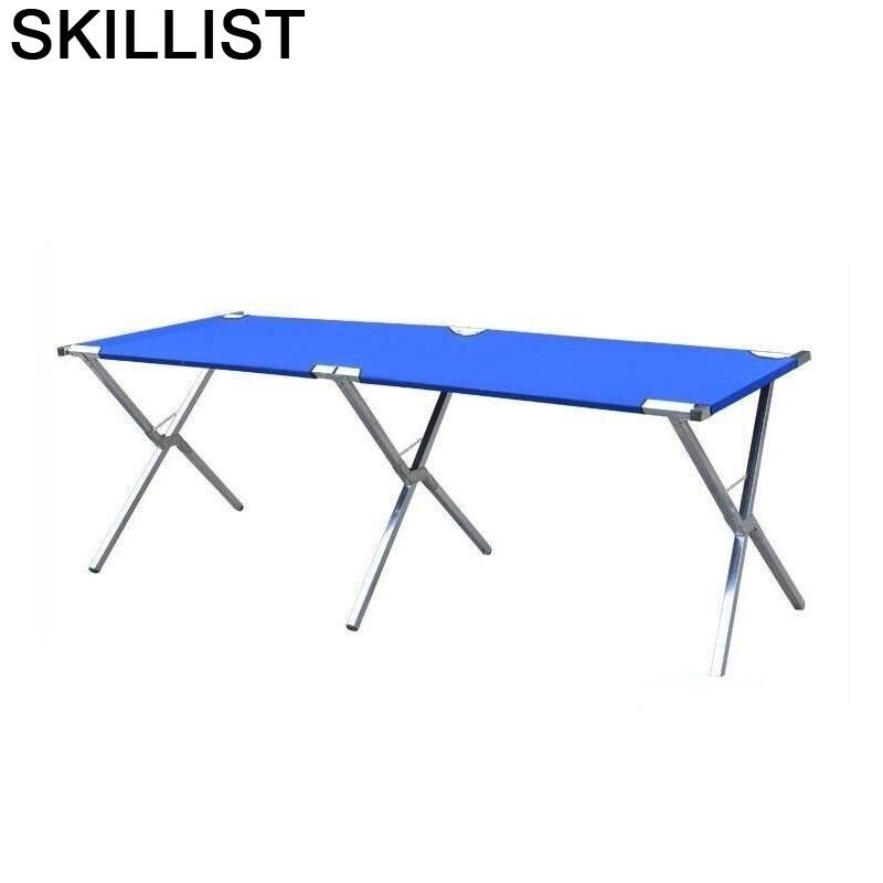 Meble-Mesa Plegable De pícnic, mueble para Patio, acampada, salón De jardín, Mesa Plegable