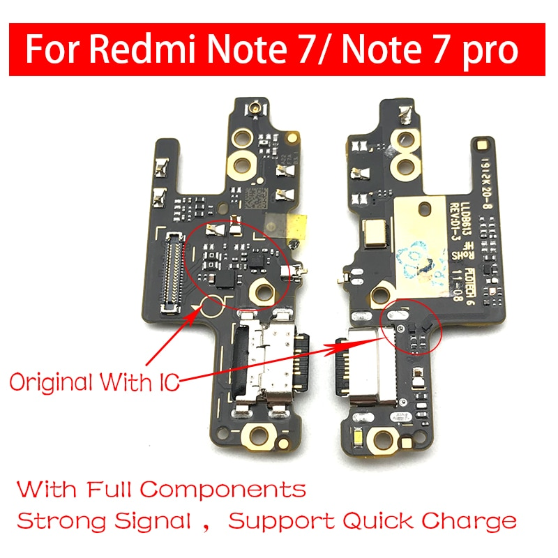 Base de carga de alimentación USB, piezas de conector de Cable flexible...