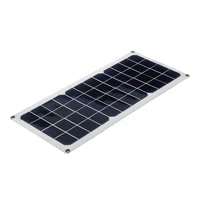 30w solar panel 12v polycrystalline double usb power portable outdoor solar cell car ship camping phone charger wsolar charger