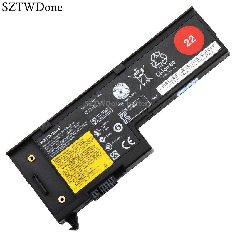 SZTWDone batería para portátil lenovo X60 X61 X60S X61S serie 42T4505 42T4630 92P1168 92P1167 92P1169 40Y7005 40Y7903 42T4505