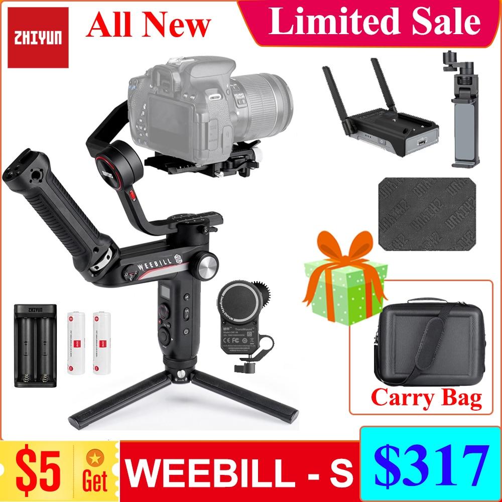3-осевой карданный стабилизатор Zhiyun WEEBILL S WEEBILL LAB Для беззеркальных и DSLR-камер Sony A7 III A6000 Nikon Panasonic GH5 Canon