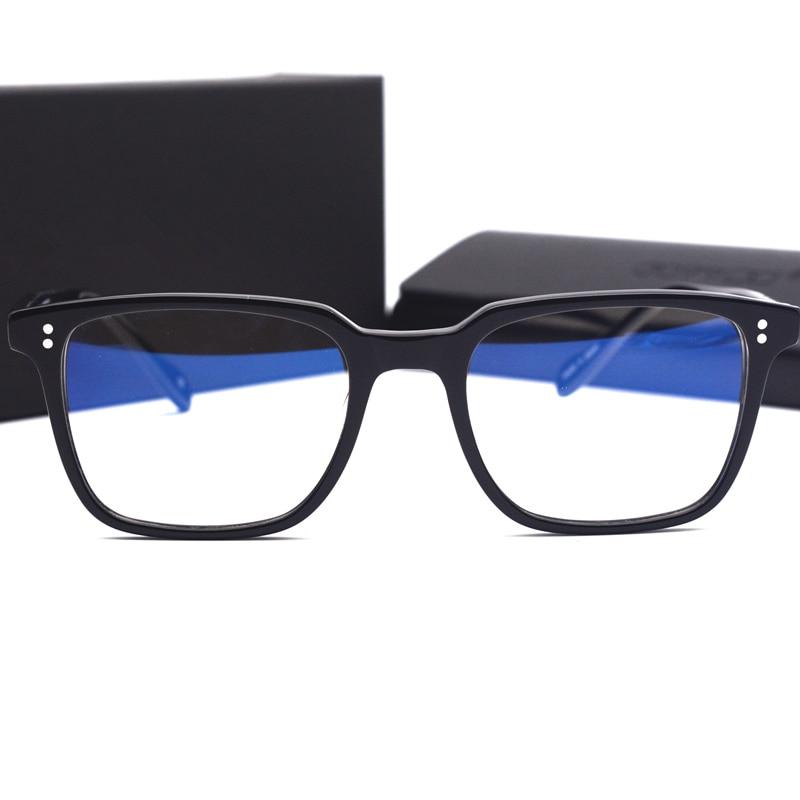 خلات إطارات النظارات الرجعية النظارات خلات إطار نظارة قراءة البصرية الرجال النساء النظارات إطار وصفة طبية نظارات