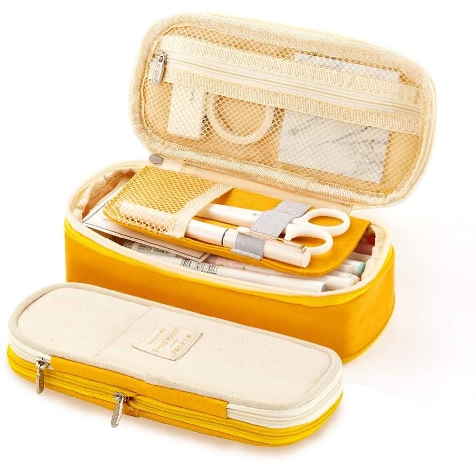 Bolsa de almacenamiento plegable para dispositivos electrónicos, estuche de lápices para la...