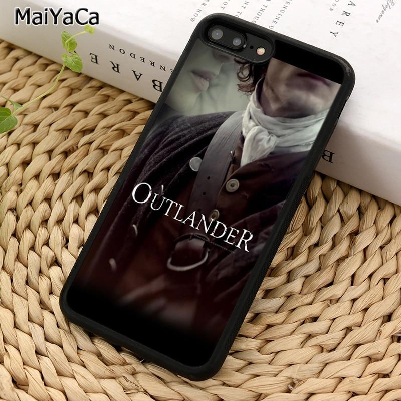 MaiYaCa OUTLANDER serie de TV caja del teléfono para iPhone X XR XS 11 Pro MAX 5 se 6 6 S 7 7 8 Plus, Samsung Galaxy S5 S6 S7edge S8 S9 S10