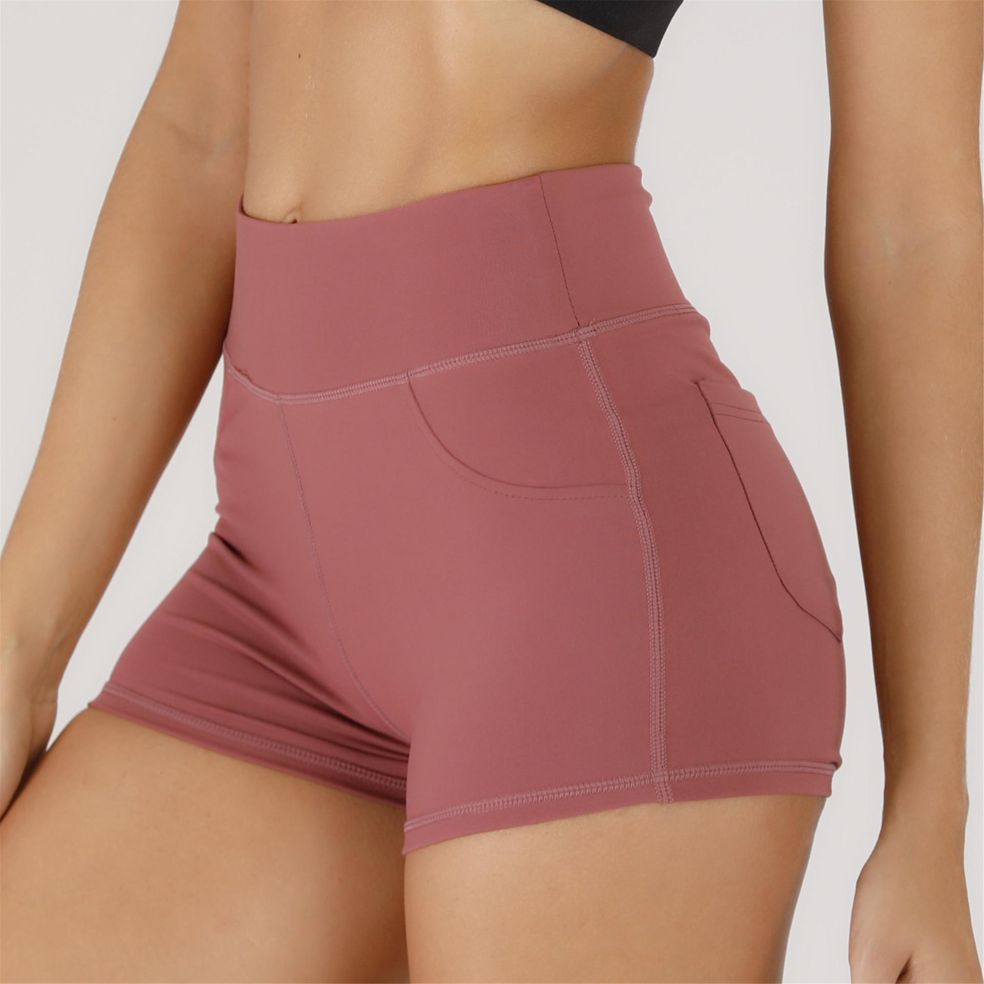 SMDPPWDBB High Waist Workout Shorts Vital Seamless Fitness Yoga Short Scrunch Butt Yoga Shorts Sport