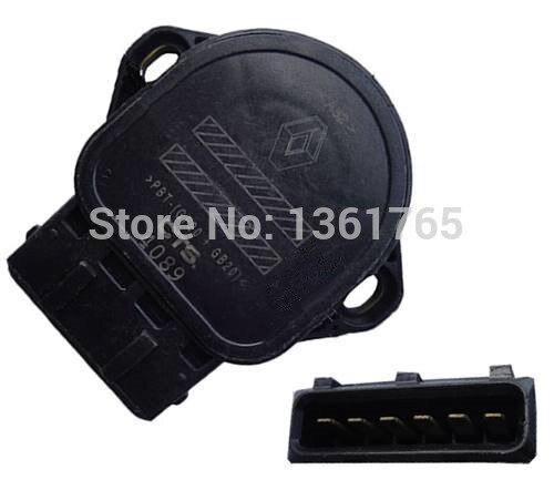 Sensor de posición del acelerador para Renault CLIO/Twingo OEM # CTS-4089 7700431918 de 8200139460