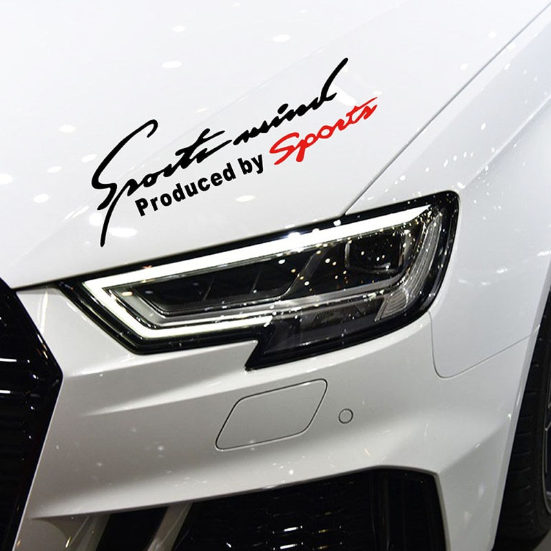 Hot Selling Car Accessories Styling Sports Mind Car Stickers Sports Mind Produced by Sport Decoratio
