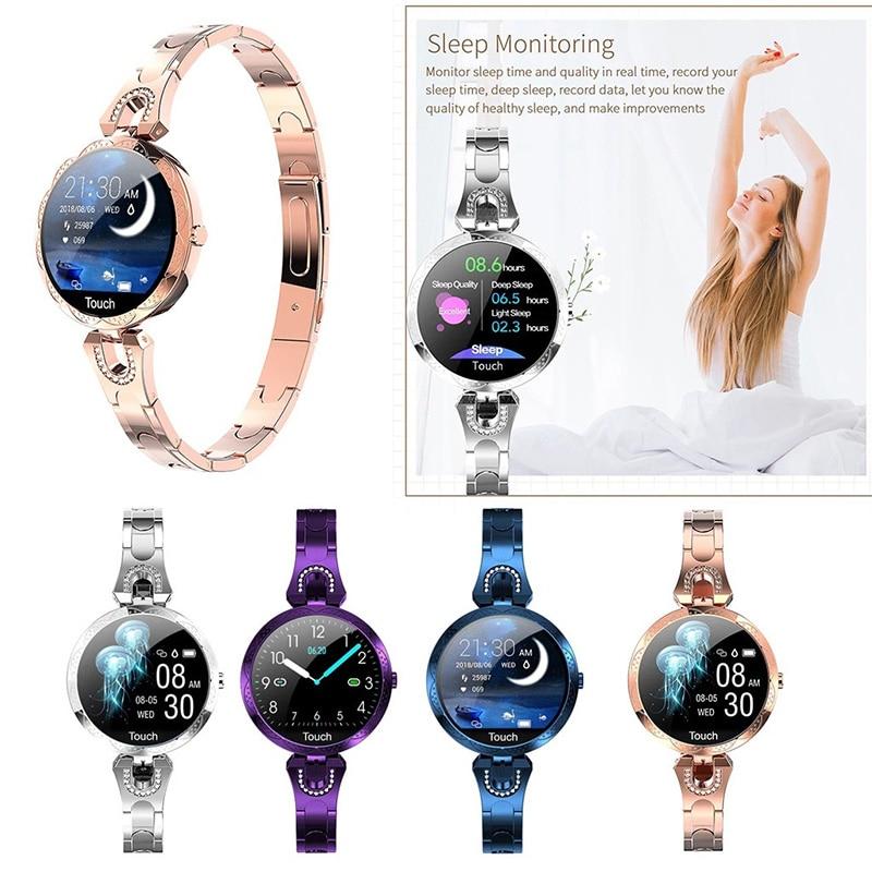 AK15 Smart Watch Women's Wristwatch Women's Watches Smart Bracelet Smartwatch Heart Rate Sleep Monitor Sports Watch Smart Clock