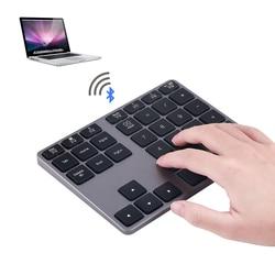 2019 Mini Bluetooth Sem Fio Teclado Numérico para Pro2019 iMac MacBook Pro de Alumínio Ultra Slim Mini Teclado para iPad Pro