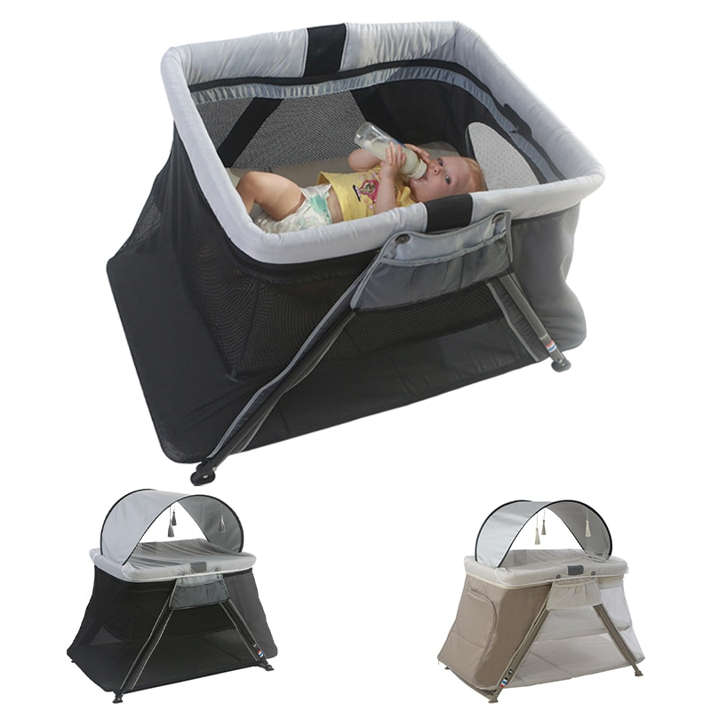 High Quality Baby Crib Portable Folding Kids Hammock Mosquito Net Comfortable Newborns Cradle Playpen Bed Luxury Infant Nest