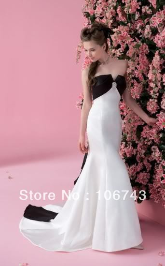 free shipping 2018 hot sale Sexy real picture sweet princess Custom handmade bow mermaid prom bridal gown bridesmaid dresses