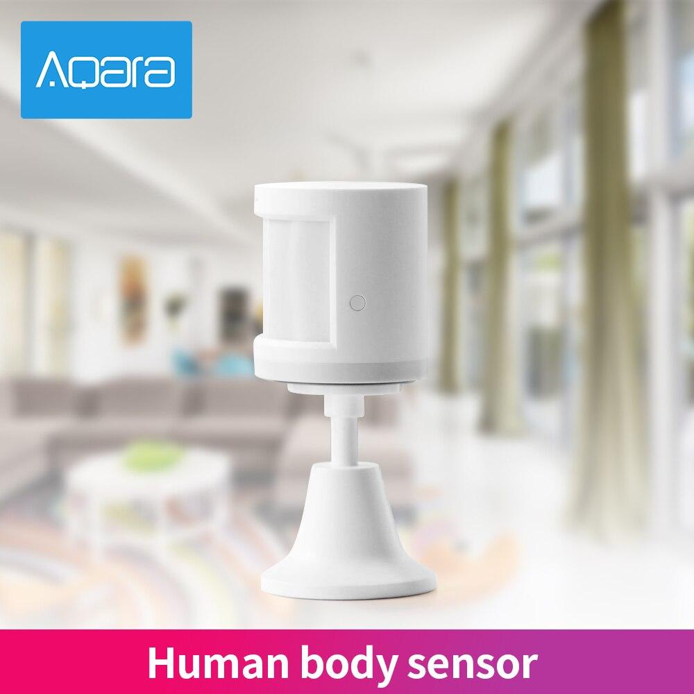 Aqara bezprzewodowy czujnik ruchu PIR czujnik ludzkiego ciała inteligentny korpus czujnik ZigBee MiHome APP połączenie System alarmowy w domu