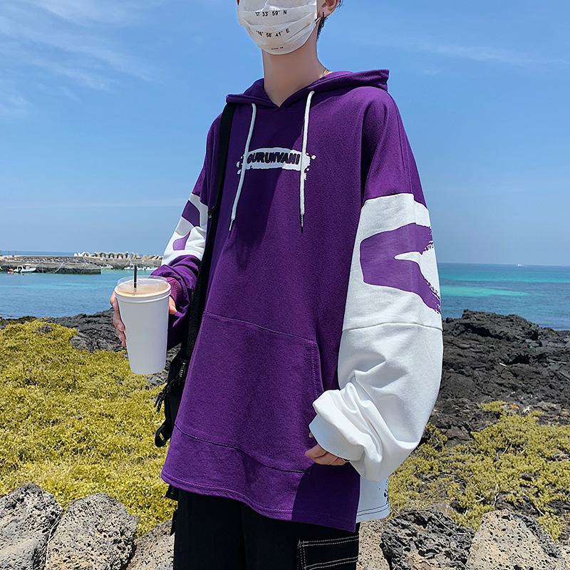 Sudadera con capucha para hombre 2020 Moda de Primavera de sudadera de...