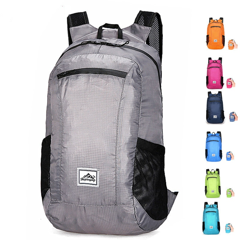 20L Lightweight Portable Foldable Backpack Waterproof Backpack Folding Bag Ultralight Outdoor Pack f