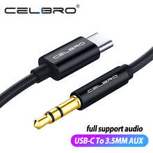 Usb Type C To 3.5mm Aux Audio Cable Headset Speaker Headphone Jack Adapter Car Aux for Samsung S20 Plus Note 20 S21 Ultra Tab S7