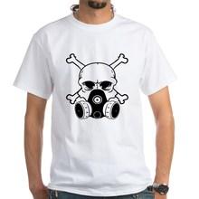 Chemical Warfare Skull Unisex T-Shirt Military