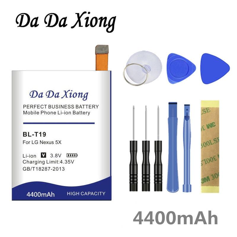 Da Da Xiong 4050mAh BLT19 BL-T19 Batterij voor LG Nexus 5X H790 H791 H798 Telefoon batterij