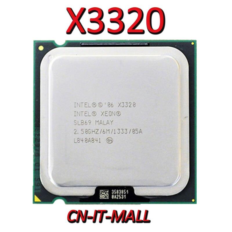 Sacó Xeon X3320 CPU 2,5 GHz 6M 4 Core 4 hilos LGA775 procesador