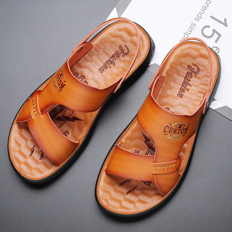 Men sandals and slippers summer new sandals casual fashion beach shoes mens gladiator sandals summer zapatos de hombre